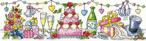 Wedding Day Cross Stitch Kit